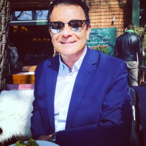 Marco Giannecchini mit Sonnenbrille